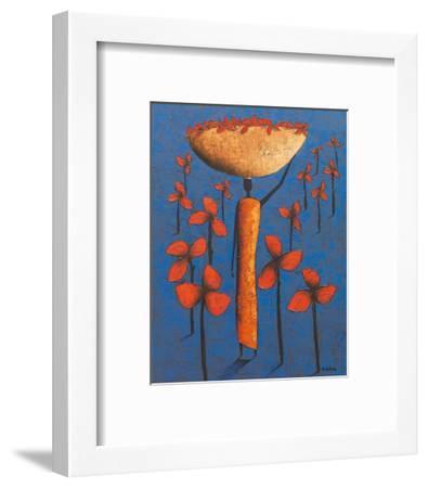 Le Champ Bleu-Michel Rauscher-Framed Art Print