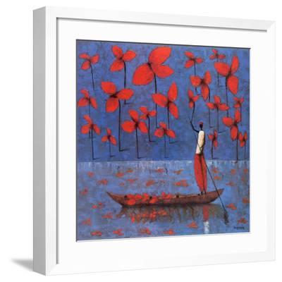 Cueillette-Michel Rauscher-Framed Art Print