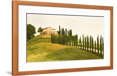 Tuscan Hills-Jim Chamberlain-Framed Art Print