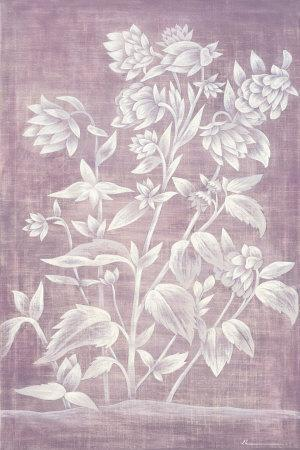 Floral Tapestry III-Jinny Lee-Framed Art Print