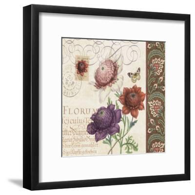 Floral Collage I-Paula Scaletta-Framed Art Print