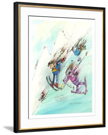 Icy Conditions-Gary Patterson-Framed Giclee Print