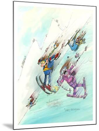 Icy Conditions-Gary Patterson-Mounted Giclee Print
