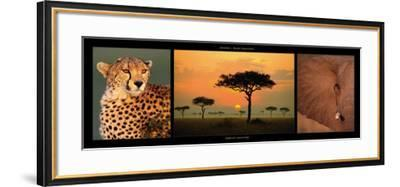 African Savannah-Michel & Christine Denis-Huot-Framed Art Print
