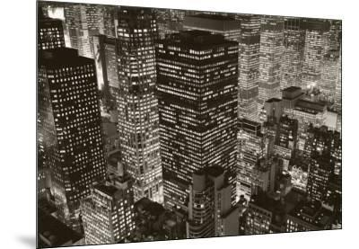 Mary Poppins over Midtown, New York, 2006-Michael Kenna-Mounted Art Print