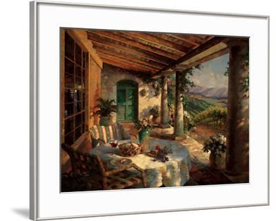 View from the Veranda-Leon Roulette-Framed Art Print