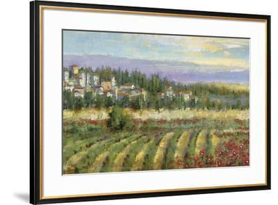 Tuscan Spring II-Michael Longo-Framed Art Print