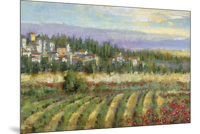 Tuscan Spring II-Michael Longo-Mounted Art Print