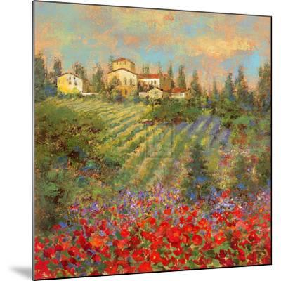 Provencal Village XII-Michael Longo-Mounted Art Print
