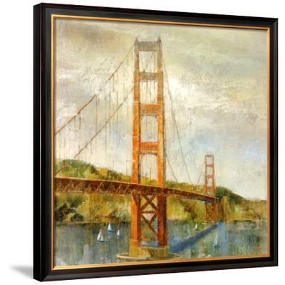 Golden Gate-Michael Longo-Framed Art Print