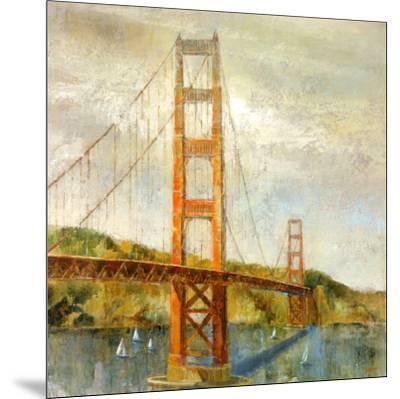 Golden Gate-Michael Longo-Mounted Art Print