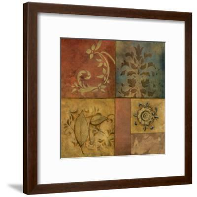 Organic Montage I-Norm Olson-Framed Art Print