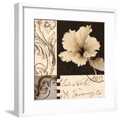 Hibiscus Blossom II-Katrina Craven-Framed Art Print