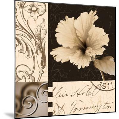 Hibiscus Blossom II-Katrina Craven-Mounted Art Print