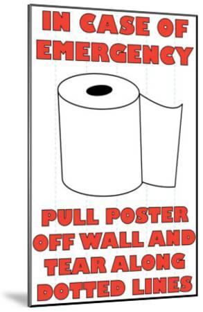 In Case of Emergency II-Russ Lachanse-Mounted Art Print