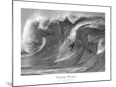 The Drop, Waimea-Bill Romerhaus-Mounted Art Print