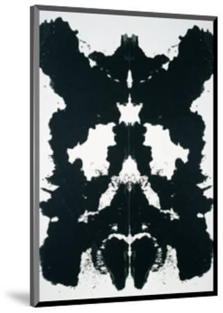 Rorschach, c.1984-Andy Warhol-Mounted Art Print