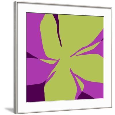 Flowers, c.2007-Nicolas Le Beuan B?nic-Framed Serigraph