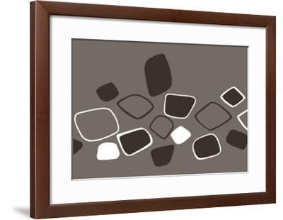 Composition, c.2005-Ernesto Riga-Framed Serigraph