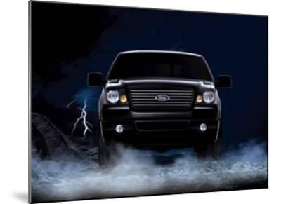 2007 Ford F-150 Super Crew--Mounted Giclee Print