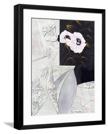 Vaso con Fiori II-Berenice Ricca-Framed Art Print