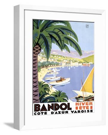 Bandol-Roger Broders-Framed Giclee Print