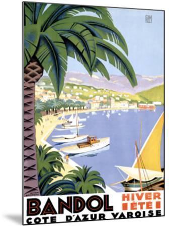 Bandol-Roger Broders-Mounted Giclee Print