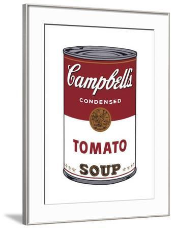 Campbell's Soup I: Tomato, c.1968-Andy Warhol-Framed Giclee Print
