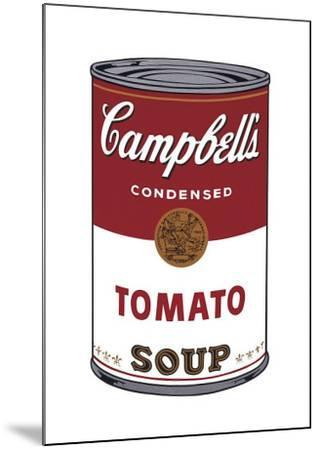 Campbell's Soup I: Tomato, c.1968-Andy Warhol-Mounted Giclee Print