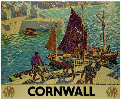 Cornwall-Ronald Lampitt-Framed Giclee Print