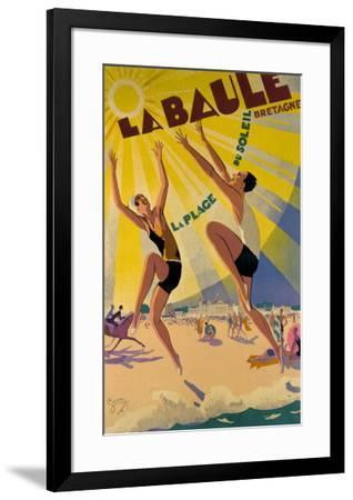 La Baule-Maurice Lauro-Framed Giclee Print