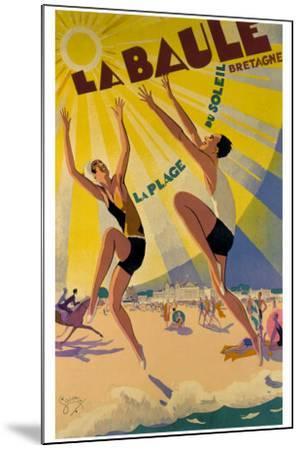 La Baule-Maurice Lauro-Mounted Giclee Print