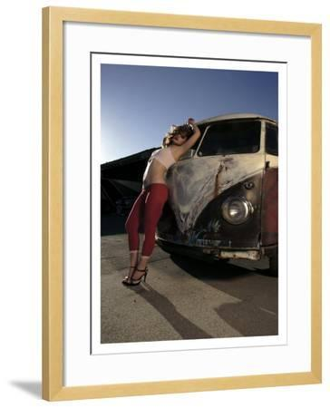 Dreamy Pick Up-David Perry-Framed Giclee Print