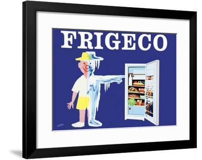 Frigeco-Raymond Savignac-Framed Art Print