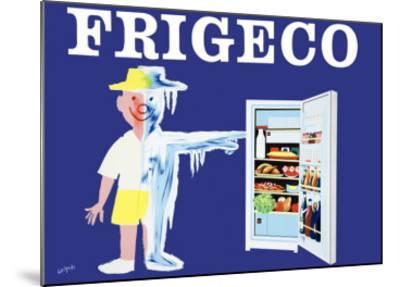 Frigeco-Raymond Savignac-Mounted Art Print