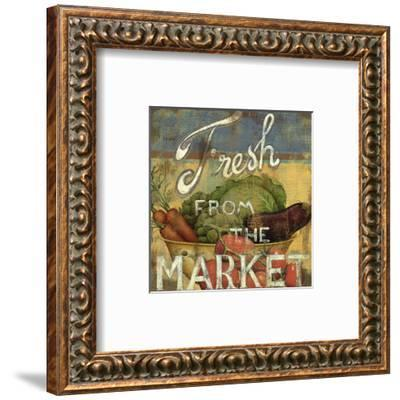 From the Market IV-Daphne Brissonnet-Framed Art Print