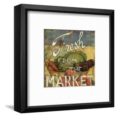 From the Market IV-Daphne Brissonnet-Framed Art Print