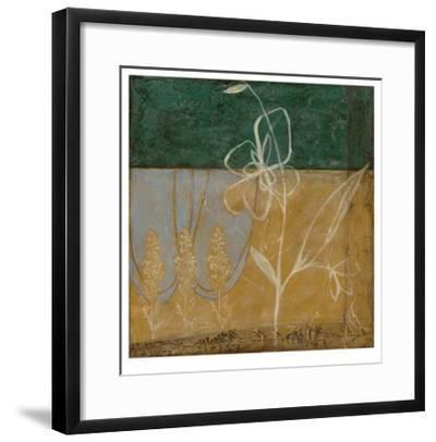 Pressed Wildflowers II-Jennifer Goldberger-Framed Limited Edition