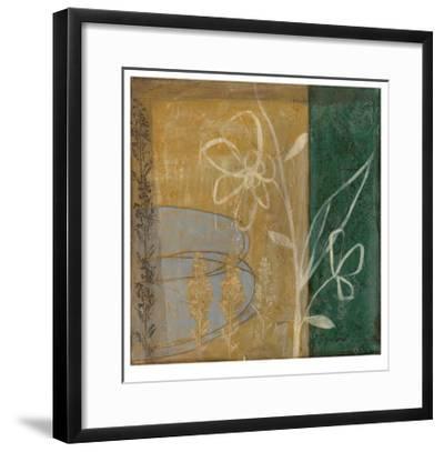 Pressed Wildflowers IV-Jennifer Goldberger-Framed Limited Edition
