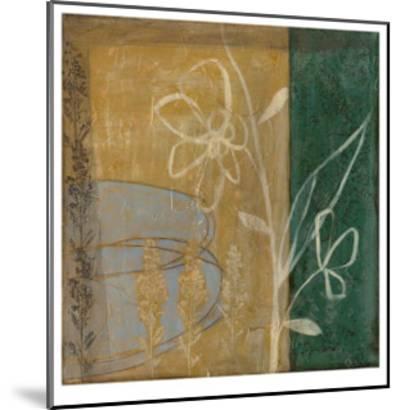 Pressed Wildflowers IV-Jennifer Goldberger-Mounted Limited Edition