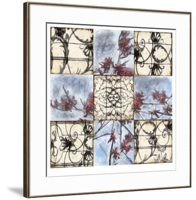 Iron & Blooms-Jennifer Goldberger-Framed Limited Edition