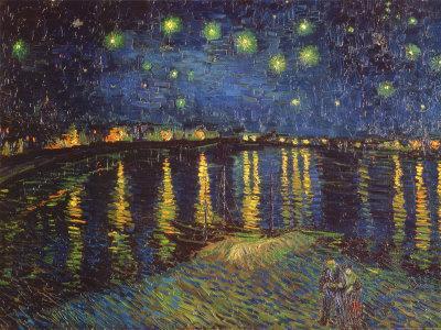 Starry Night over the Rhone, c.1888-Vincent van Gogh-Art Print