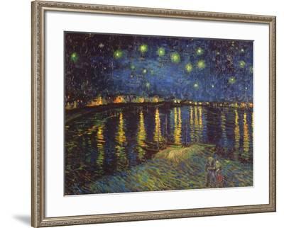 Starry Night over the Rhone, c.1888-Vincent van Gogh-Framed Art Print