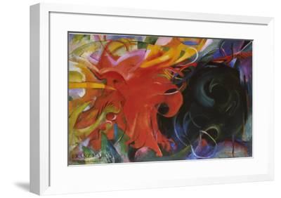 Constellation-Franz Marc-Framed Art Print