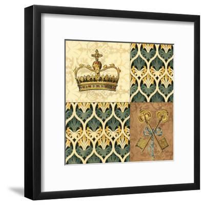 Regal Heraldry II--Framed Art Print