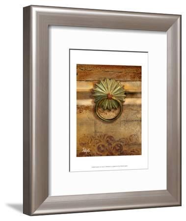Handles on Gold I-Patty Q^-Framed Art Print