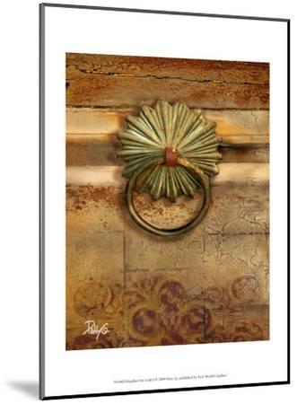 Handles on Gold I-Patty Q^-Mounted Art Print