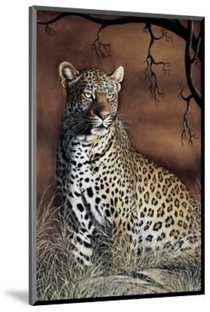 Sitting Leopard-Rajendra Singh-Mounted Art Print