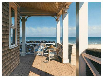 Nantucket Shore-Daniel Pollera-Art Print