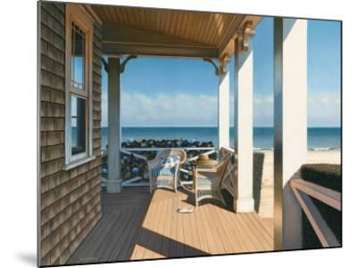 Nantucket Shore-Daniel Pollera-Mounted Art Print